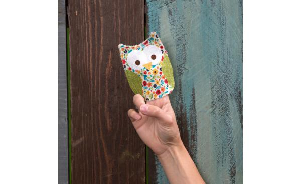 Entertain With This Owl Finger Puppet!