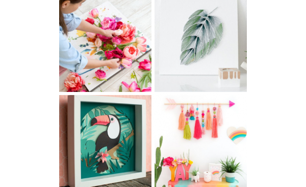 Top DIY Wall Art Projects!