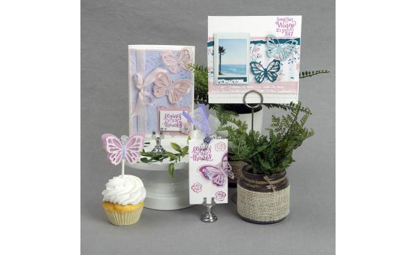 #ItsFunHere With David Tutera Butterfly Stamp & Die Bundle On HSN!