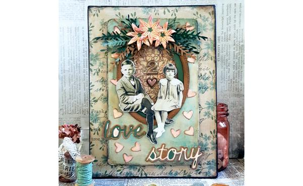 Guest Blogger: DIY Mixed Media Love Story Craft!