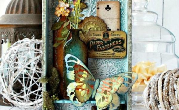 Farmhouse Style Collector Box
