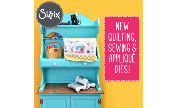 Available Now on Sizzix.com: Spring 2018 Quilting Dies!