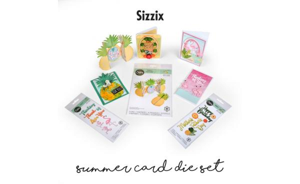 Sizzix Summer Card Die Set featured on HSN