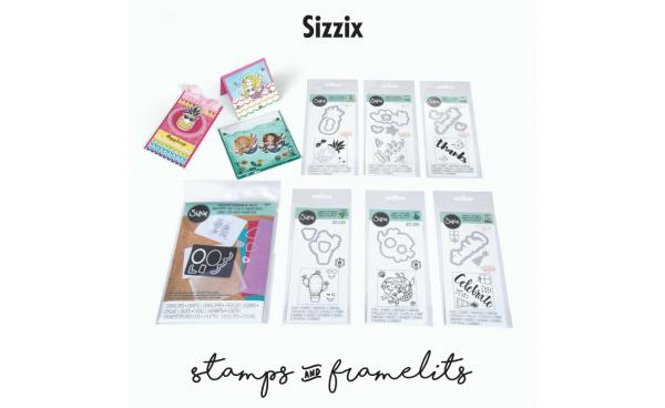 Sizzix Stamps & Framelits Featured on HSN