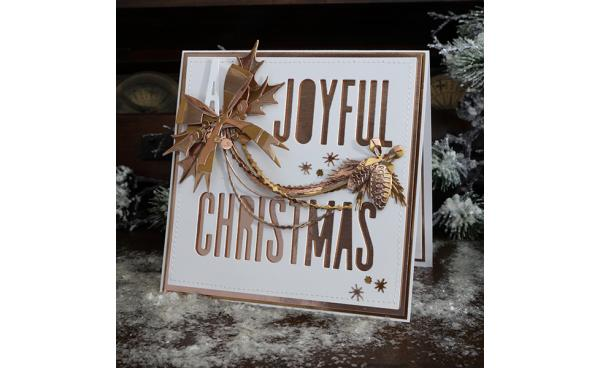A Joyful Christmas Card by Jan Hobbins