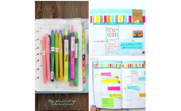 Set-up the Perfect Planner for the New Year!