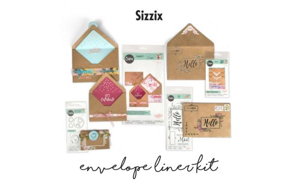 Sizzix Envelope Liner Kit featured on HSN