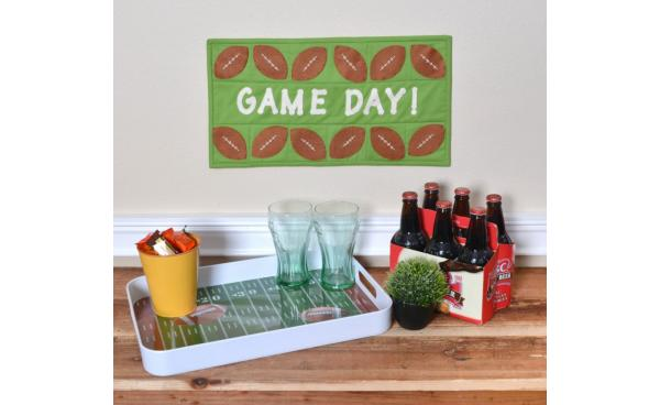 Make this Perfect Quilt for Game Day!