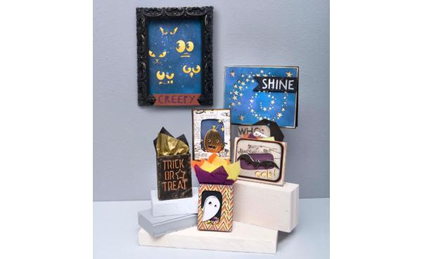 Now Available: Tim Holtz for Halloween!