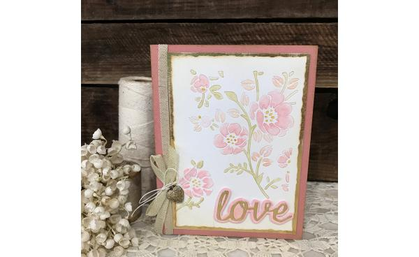 Get Mixed Media Making With This Springtime Card DIY!