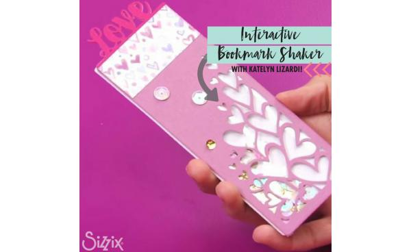 Make This Interactive Shaker Bookmark With Katelyn Lizardi!