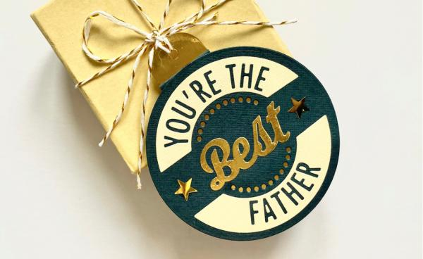 Fathers Day Gift Tag