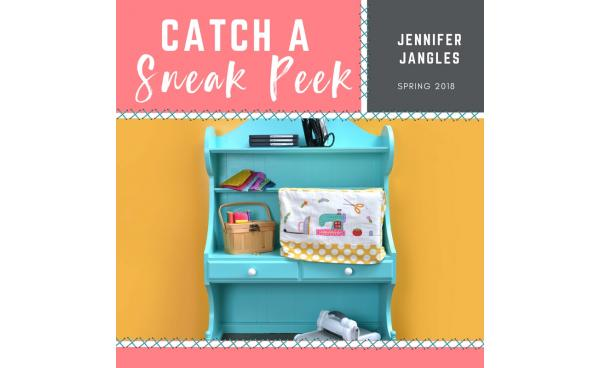 Catch a Sneak Peek of Jennifer Jangle's Quilt Dies for Spring 2018!