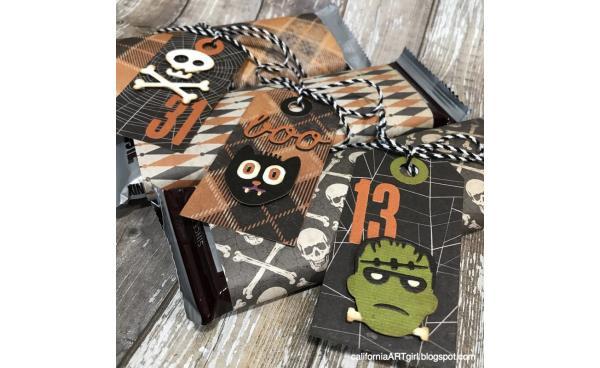 DIY Spooky Halloween Tags!