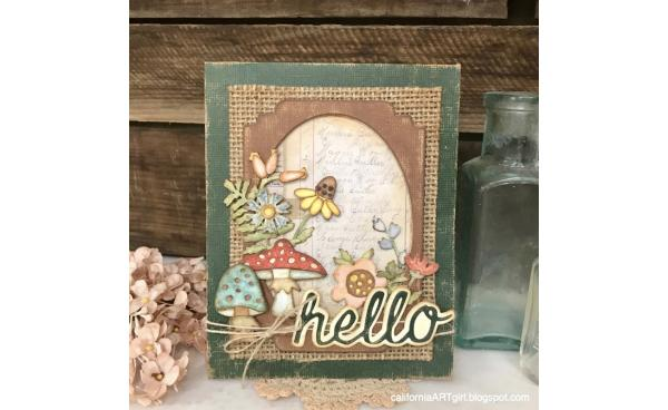 Autumn Cards with Funky Foliage by Tim Holtz!