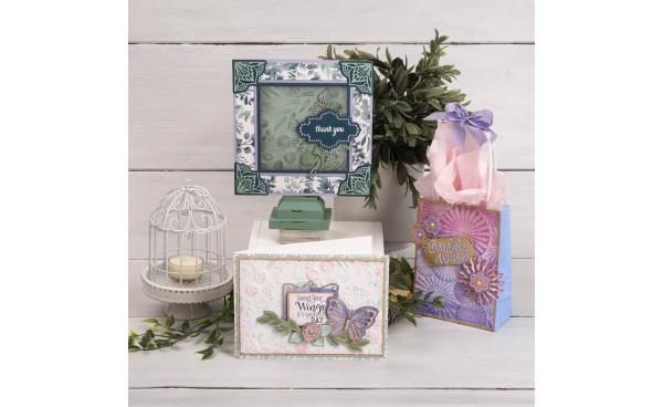 David Tutera 3-D Embossing Folder Set On HSN! #ItsFunHere
