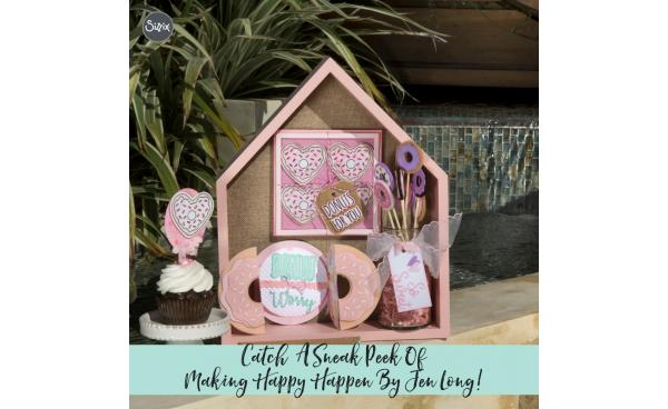 Catch A Sneak Peek Of Making Happy Happen By Jen Long!