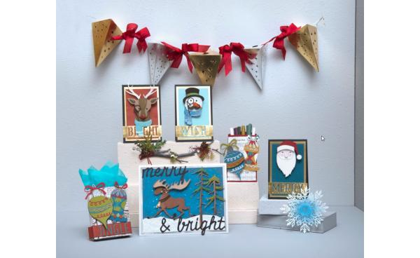 Available Now: Tim Holtz Holiday Collection!