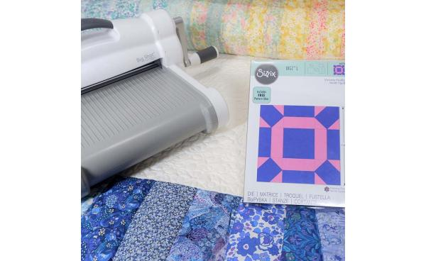 "The Easiest Tutorial Around the ""Facets Quilt Block"""