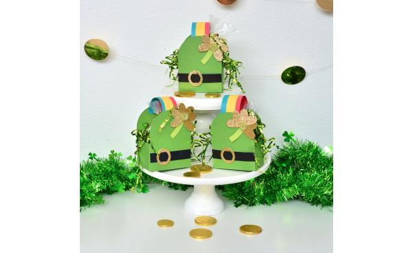 Make a Leprechaun Hat Favor Box for St. Patrick's Day