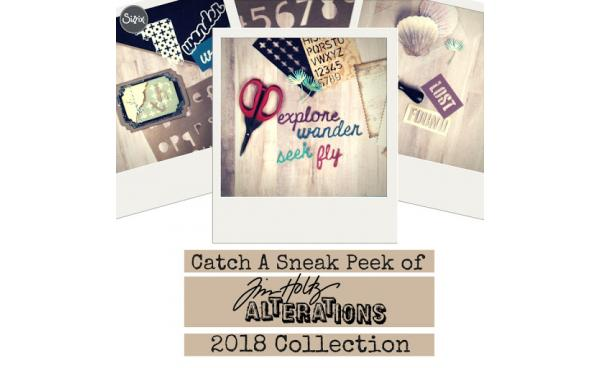 Sneak Peek: Tim Holtz's 2018 Collections!
