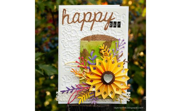 It's a Happy Day with This Fall Gift Card Holder Card!