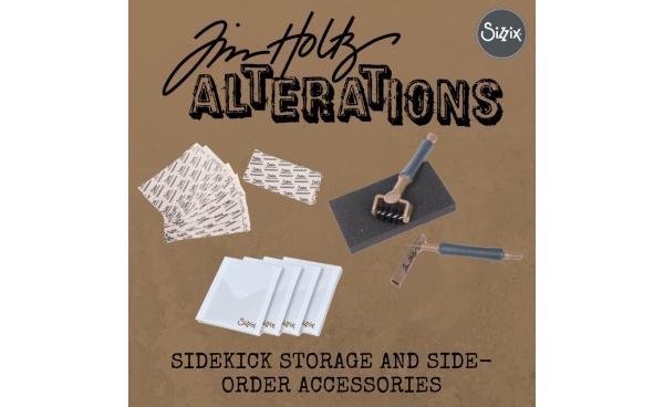 Tim Holtz Sidekick Storage and Side-order Accessories