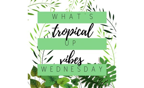 What's Up Wednesday: Tropic Like It's Hot!