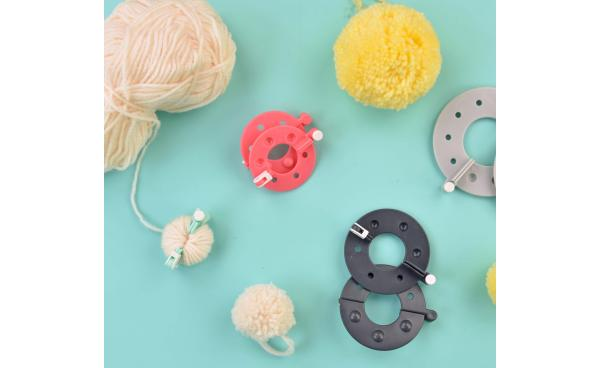 Available Now at sizzix.com: Pom-Pom Maker!