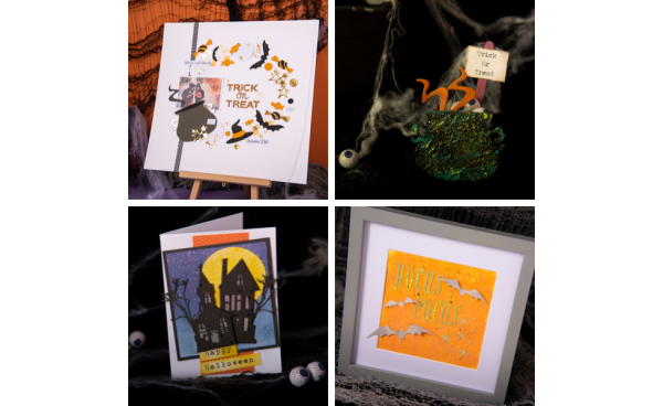 Spooktacular Halloween Party DIY's using Tim Holtz® Dies