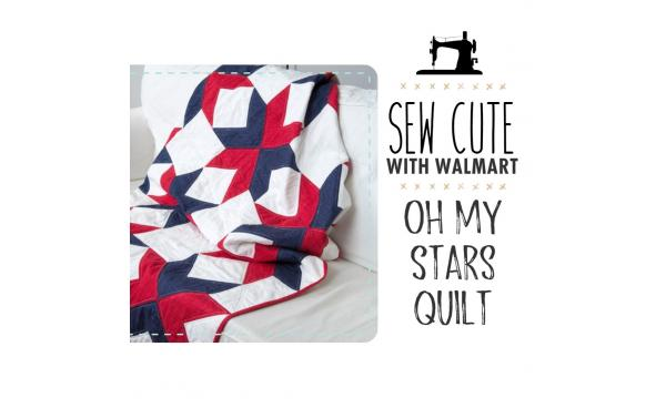Sew Cute With Walmart: Oh My Stars