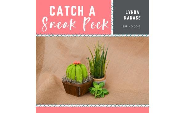 Catch a Sneak Peek of Lynda Kanase's Quilt Die for Spring 2018!