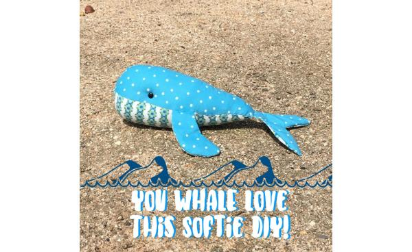 You WHALE Love This Softie DIY!