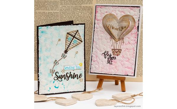 Send Love with These DIY Heart Embossed Cards!