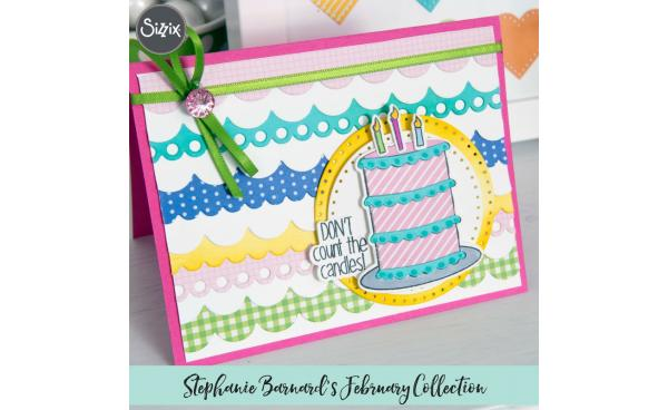 Sneak Peek: Stephanie Barnard's Cards That Wow February Collection!